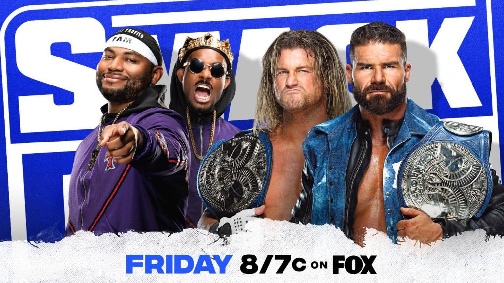 Tag Team Title Match And More Announced For WWE SmackDown