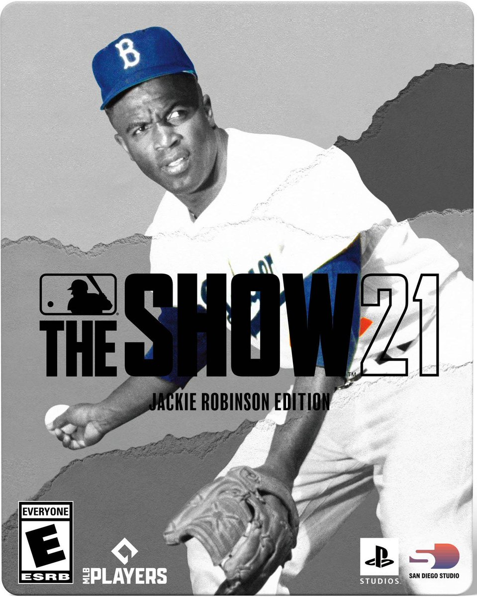 How sweet is this Jackie Robinson addition! Cant't wait to pick up #MLBTheShow21 tomorrow! What are you all doing this weekend?!   🎮🎮🎮🕹🕹🎮⚾️ https://t.co/0rpiEv31RZ