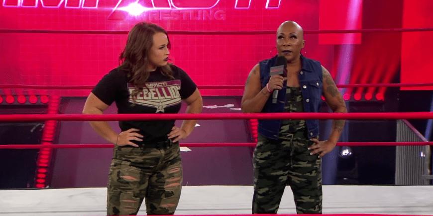 La leyenda de la lucha femenina en IMPACT Wrestling.