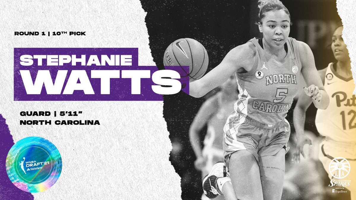 Stephanie Watts, welcome to the @LASparks!! @swatts15