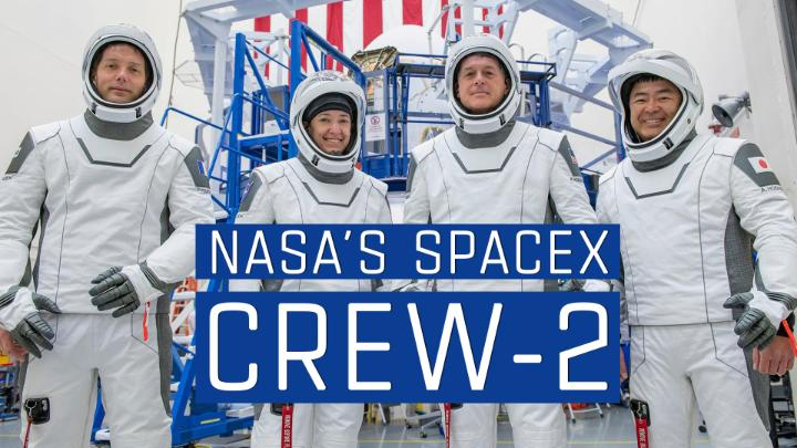 🚀 NASA's @SpaceX Crew-2 mission is GO for launch to the @Space_Station!   Four astronauts are set for liftoff aboard their Crew Dragon Endeavour spacecraft on Thurs., April 22 at 6:11am ET from @NASAKennedy. Watch live starting at 2am: