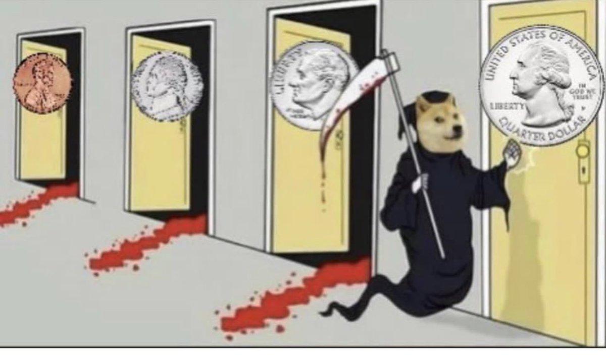 RT @StockSwingAlert: $DOGE #Dogecoin .25 on deck 😉 https://t.co/41ESccNHbL