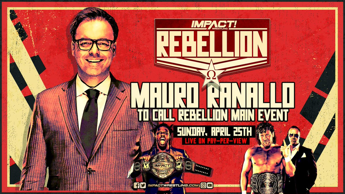 Backstage Notes On Mauro Ranallo Working Rebellion