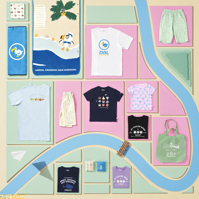 "test ツイッターメディア - 【あつ森×ユニクロ】『あつまれ どうぶつの森』のTシャツやトートバッグなどが4月29日発売。店内を再現した""UNIQLO島""、マイデザインも同時公開  #あつまれどうぶつの森  https://t.co/Yz5pPsyh2s https://t.co/RasRGwdR6D"
