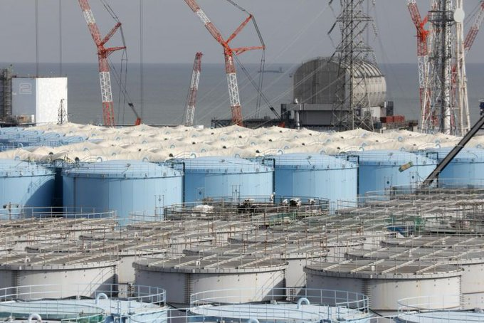 China Dares Japanese Officials to Drink Fukushima Wastewater Photo