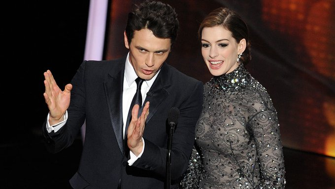 James Franco, Anne Hathaway's 2011 Oscars hosting gig was an 'uncomfortable blind date,' show writers say Photo