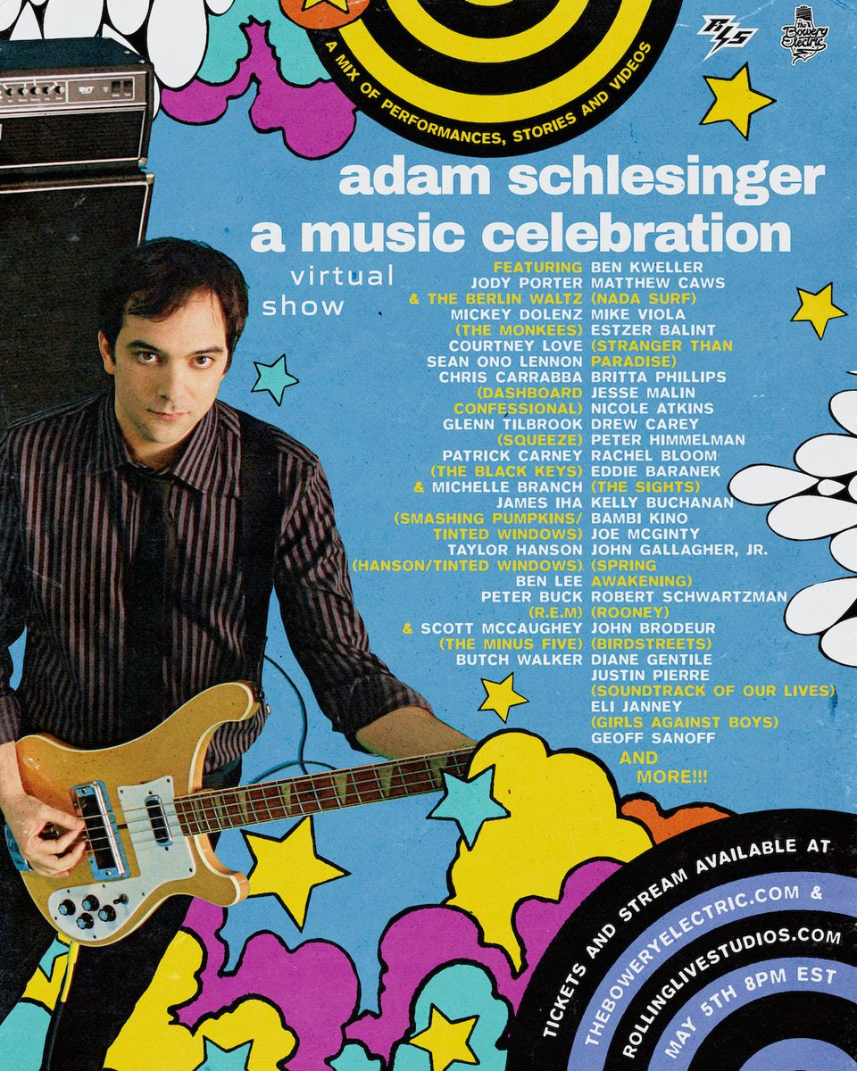 Courtney Love, James Iha And More To Perform At Adam Schlesinger Tribute