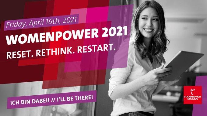 Heute auf der #HM21, 10:45 Uhr, #WomenPower21: Mehr über aktuelle Karrieremöglichkeiten bei...
