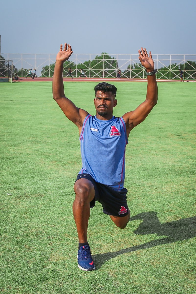 The secret of your future is hidden in your daily routine.  #PantherSquad #JaiHanuman #TopCats #JaipurPinkPanthers #JPP #Jaipur #vivoprokabaddi