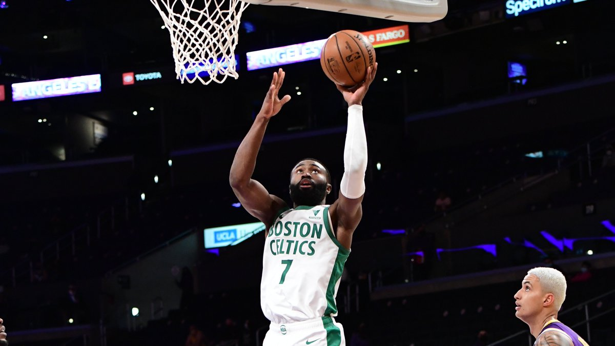 Jaylen Brown (40 PTS on 17-20 FGM) is the first player in @celtics history to score 40+ PTS with a field-goal percentage of 85% or better. https://t.co/5XBdnwo8ck