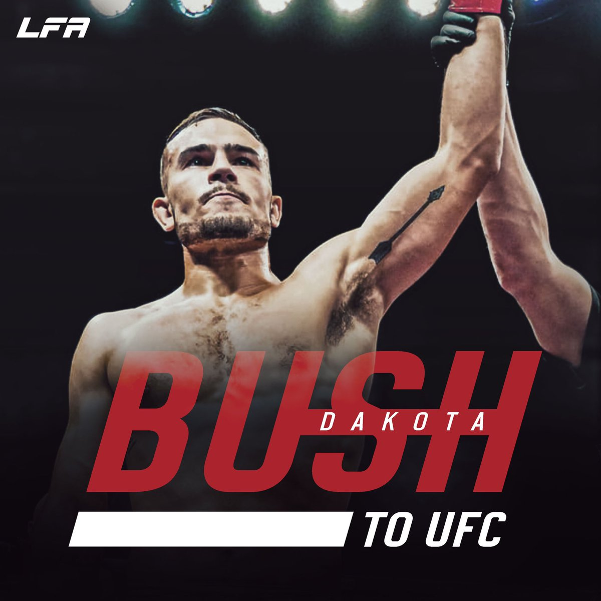 Congrats to @LFAfighting star @HaiRyBUsH_155 on signing with the #UFC!  #MMA #LFANation @UFCFightPass https://t.co/73nkPPp6We