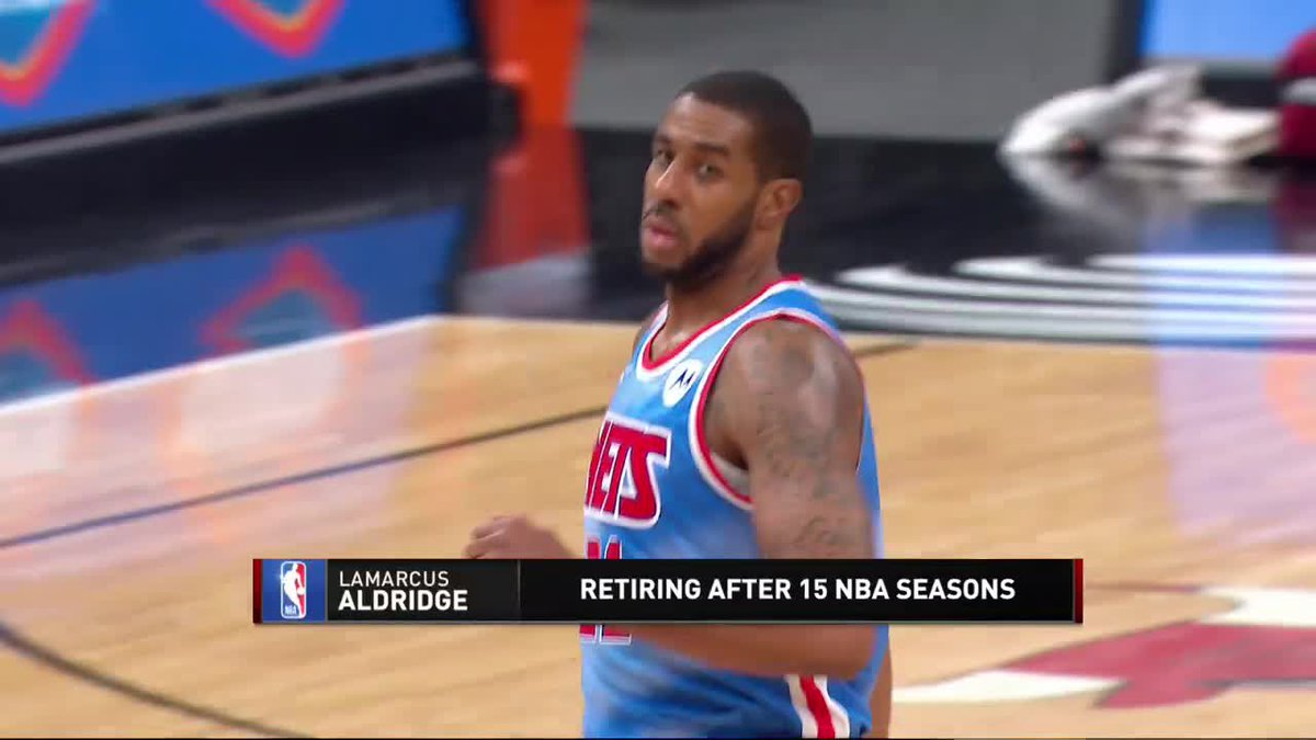 The Inside crew reacts to LaMarcus Aldridge retiring after playing with an irregular heartbeat. https://t.co/OPkMjb2i2Y
