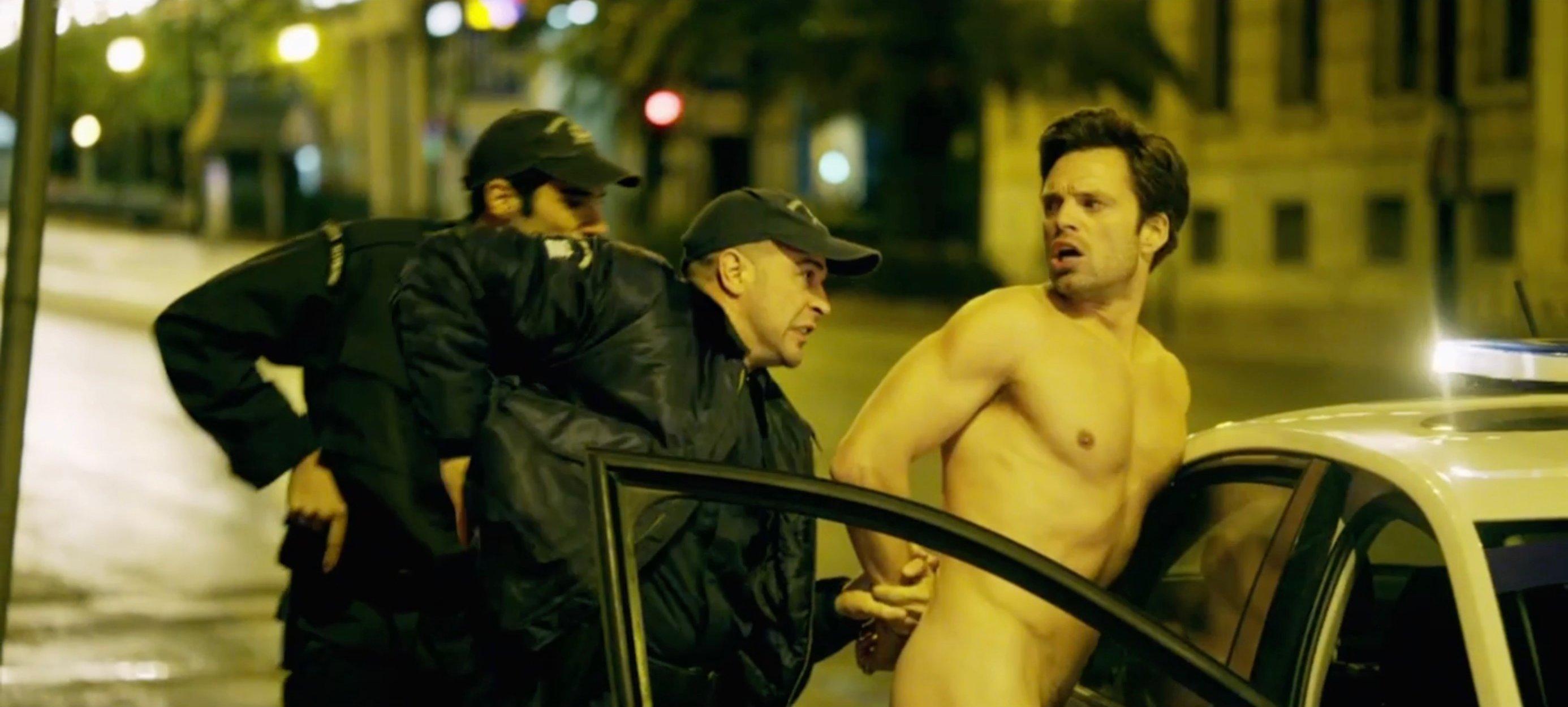 Sebastian Stan Naked