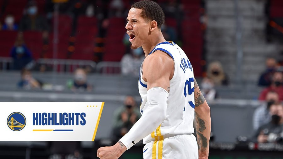 Juan career high 20 points for the GSW's win