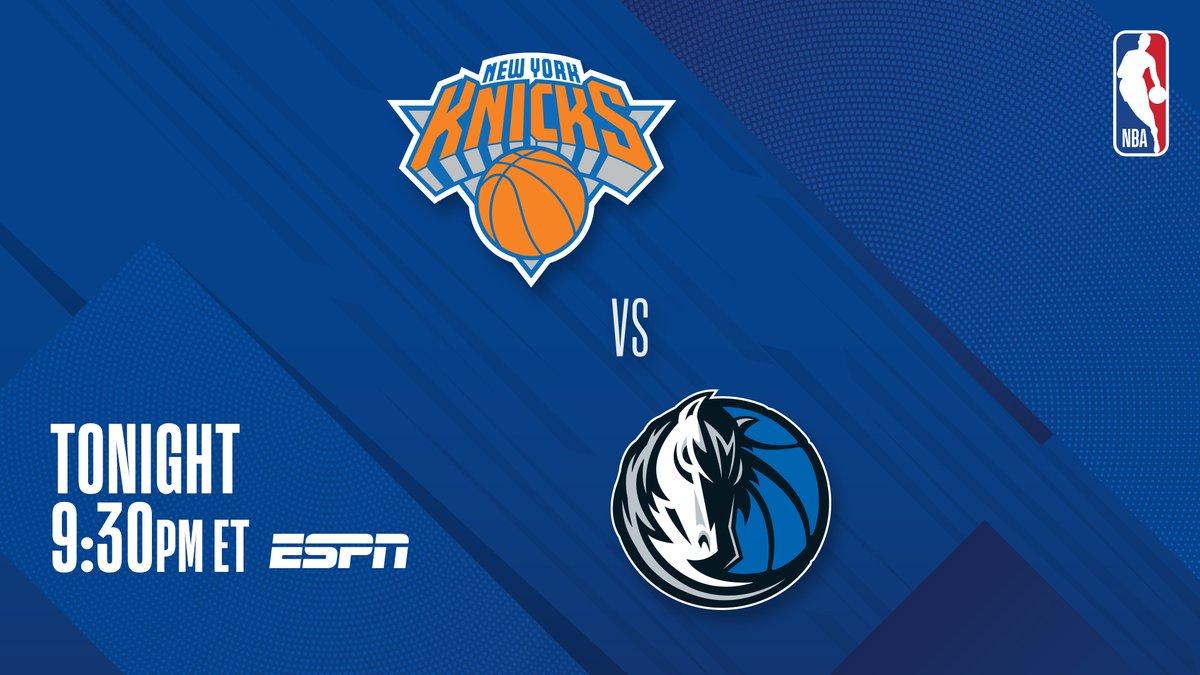 ▪️ Luka #TissotBuzzerBeater last game ▪️ Randle last 3 games: 30.7 PPG ▪️ Knicks seek 5 wins in a row  #6 in East @nyknicks vs. #7 in West @dallasmavs at 9:30 PM ET on ESPN! https://t.co/qd3OE43YAU
