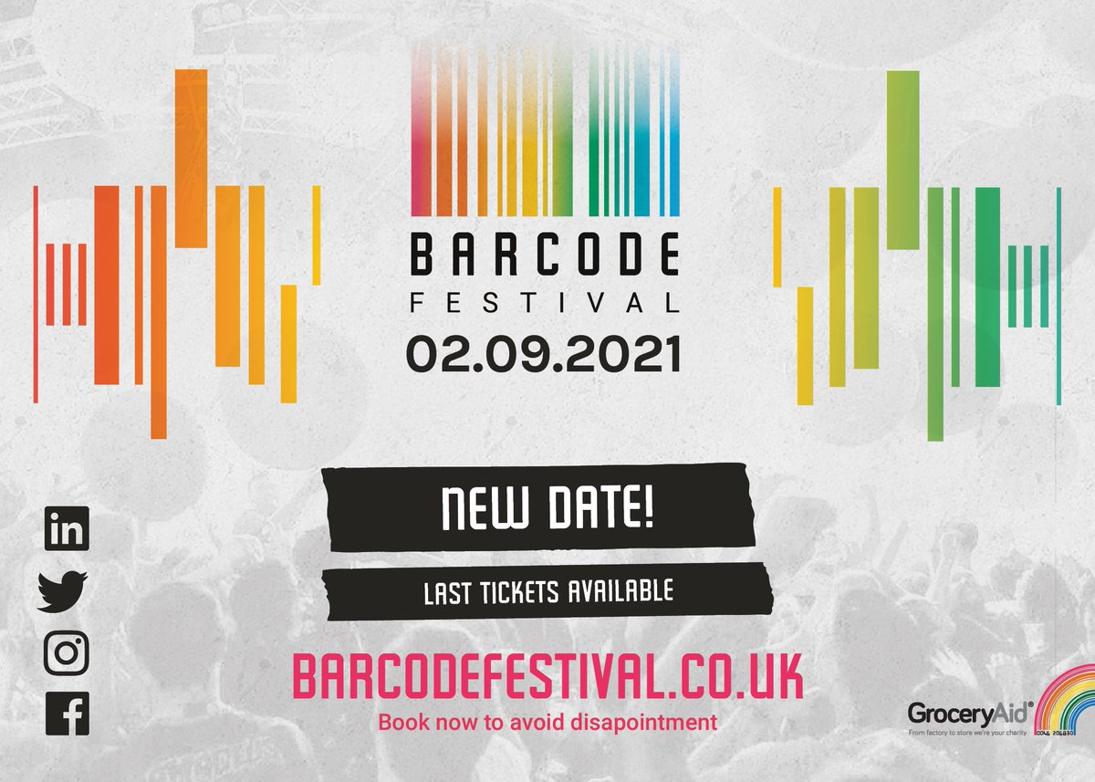 Have you heard? Barcode Festival has a new date for this year! Find out more below 👇