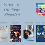 Image for the Tweet beginning: The 2021 shortlist for Novel