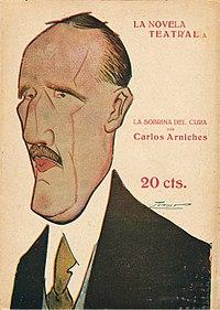 test Twitter Media - Carlos #arniches posee una singular visión dramática de lo cotidiano. Autor de sainetes, entremeses.. se inspira en el esplendor del género chico para dibujar el Madrid castizo de comienzos del XX. 👉📚https://t.co/ow7zXLEQqn Murió #TalDiaComoHoy de 1943 https://t.co/EwETJL0LFG