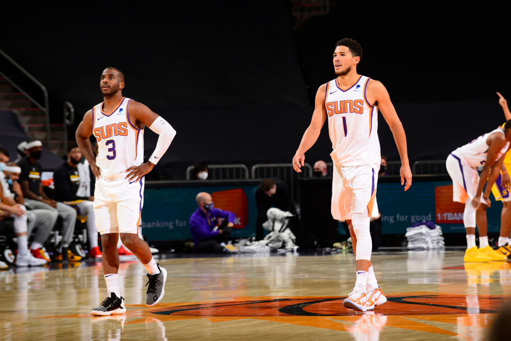 I Phoenix Suns raggiungono 40 vittorie per la prima volta dalla stagione 2013/14. Questa volta è diverso, sono una delle 4 squadre ad essere in top 10 nella lega per Offensive rating e Defensive rating, e miglior record in trasferta. Playoffs incoming. #NBA #RallyTheValley https://t.co/0cujrFh5jw