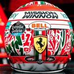 Image for the Tweet beginning: This weekends helmet is a