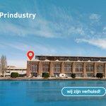 Image for the Tweet beginning: Prindustry verhuisd.  @Prindustry