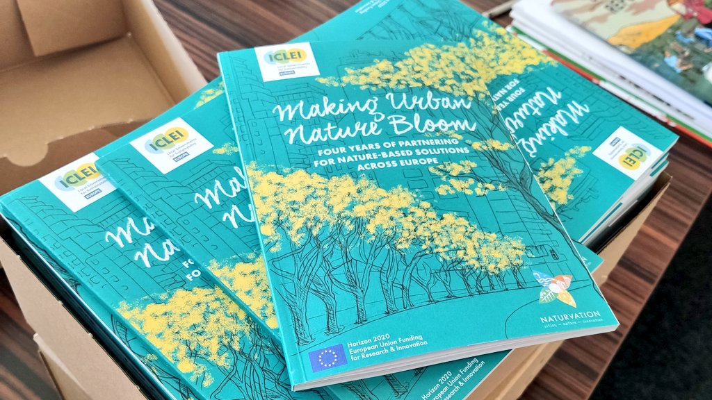 RT @matthewbach And the paper copies are here! 🎉 Check out our @ICLEI_Europe and @naturvation book 'Making Urban Nature Bloom' full of insights from co-creative processes for #NatureBasedSolutions in six cities.   📖 https://t.co/ToZupGrSNv