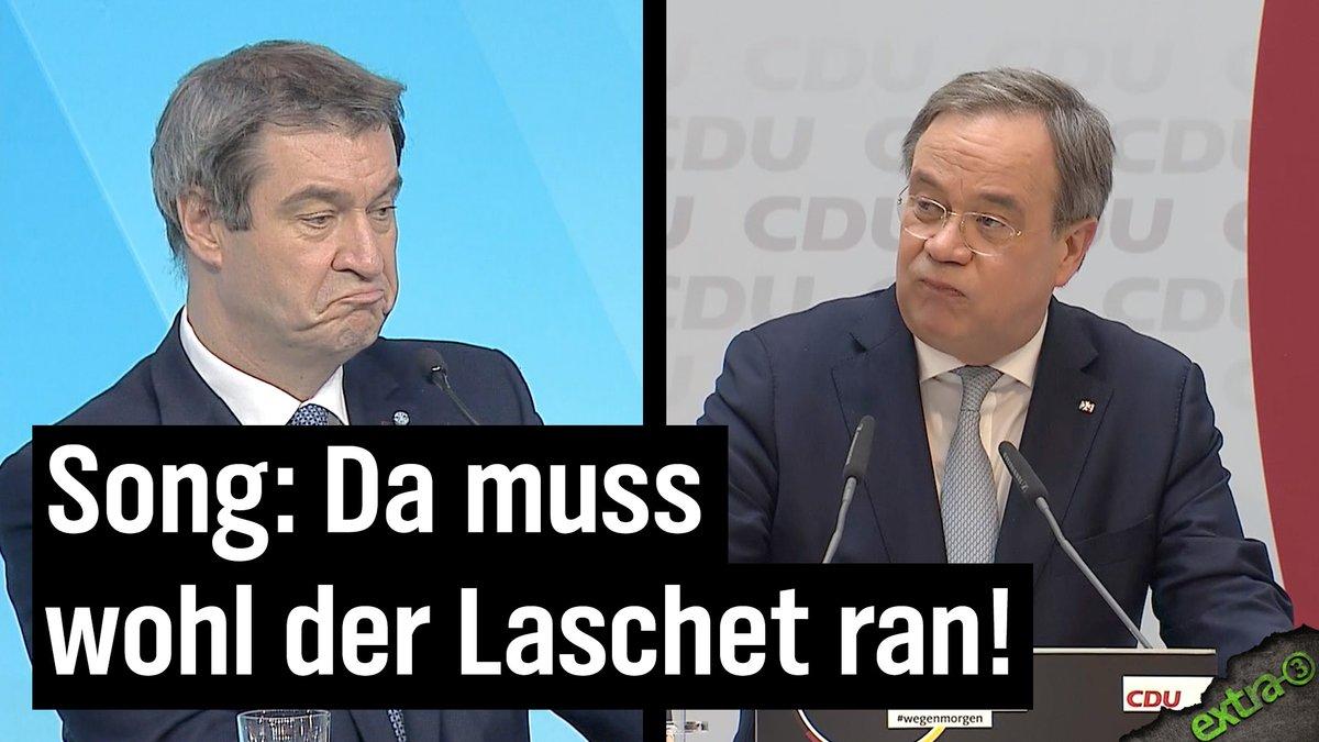Image for the Tweet beginning: #Laschet: Der Soundtrack zur Kanzlerkandidatur