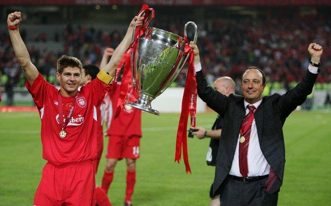 Happy birthday, 2005 winner Rafael Benítez!  #HBD | #UCL https://t.co/ZsLgyREa8a