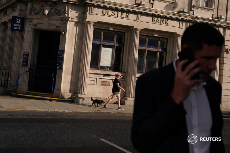 First NatWest pulled the plug on Ulster Bank. Now Belgium's KBC is planning to flog around 8.9 billion euros of assets to Bank of Ireland. The exodus could presage similar moves across Europe, writes @aimeedonnellan https://t.co/OjbHaWqoA2 https://t.co/J62dzHmdyo