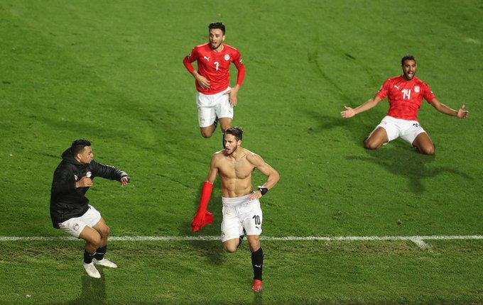 منتخب مصر الأولمبي يأتي في التصنيف الثالث