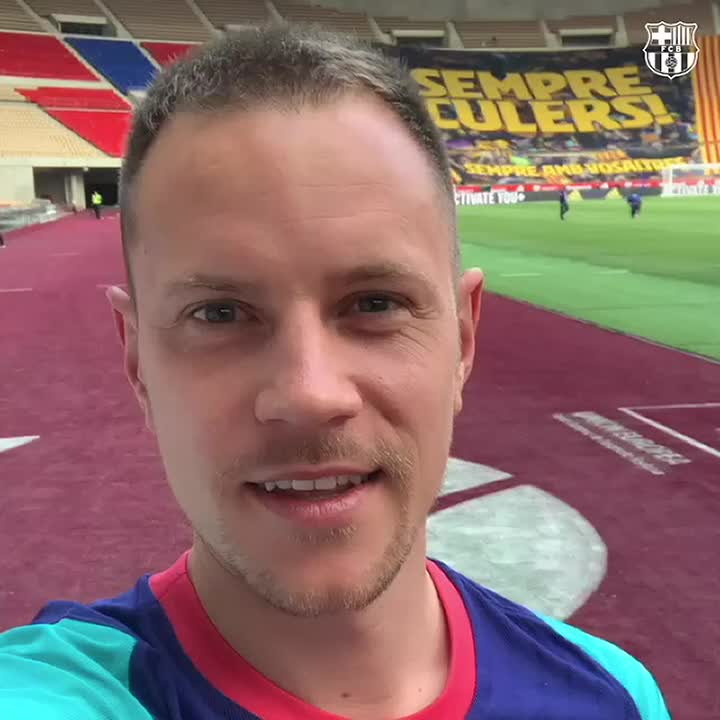 🙋♂️ #Culers!   @mterstegen1 has a special message for you ahead of the Copa del Rey final: https://t.co/rVnAluLWs0