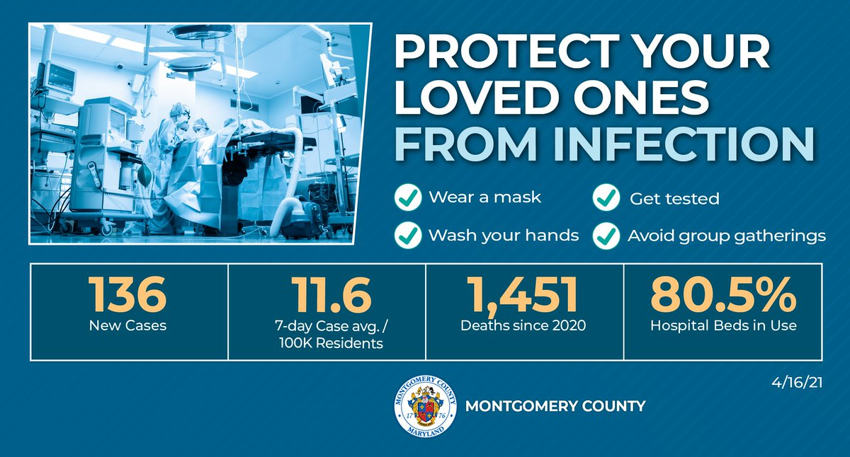 An important message from @MontgomeryCoMD