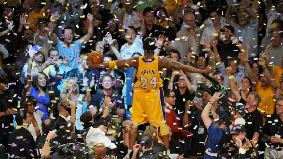 This series was a classic, and if you haven't seen it you are truly missing out on magic, it seemed fake. The chemistry between both teams, it was beautiful. It would go to 7 games, but the Mamba would come out on top. Kobe won his 5th ring, cementing his seat on mount Olympus. https://t.co/NNpjqfjpHH