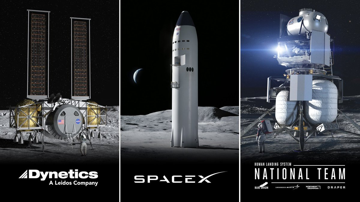 Dynetics SpaceX National Team HLS Contratos