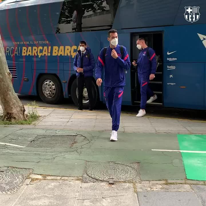 🏨 Enjoy your stay in Seville! #CopaBarça https://t.co/mTielcx1lo