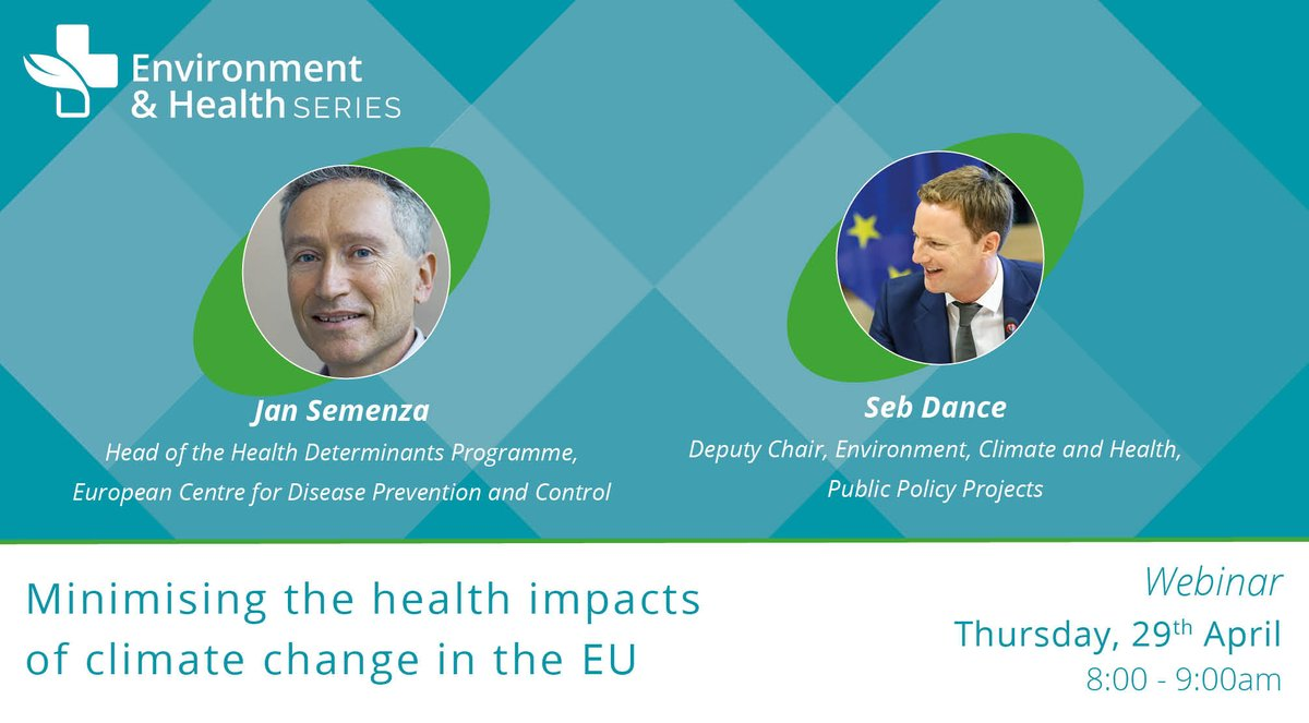 test Twitter Media - Have you ever thought about what impact #climatechange has on infectious diseases?  💻: Minimising the health impacts of climate change in the EU 🎙️: @SebDance (Chair of session) and Jan Semenza, @ECDC_EU  📅: Thurs, 29th April (8-9) ✔️: https://t.co/TUvyAWu75g https://t.co/a5L50DMM98