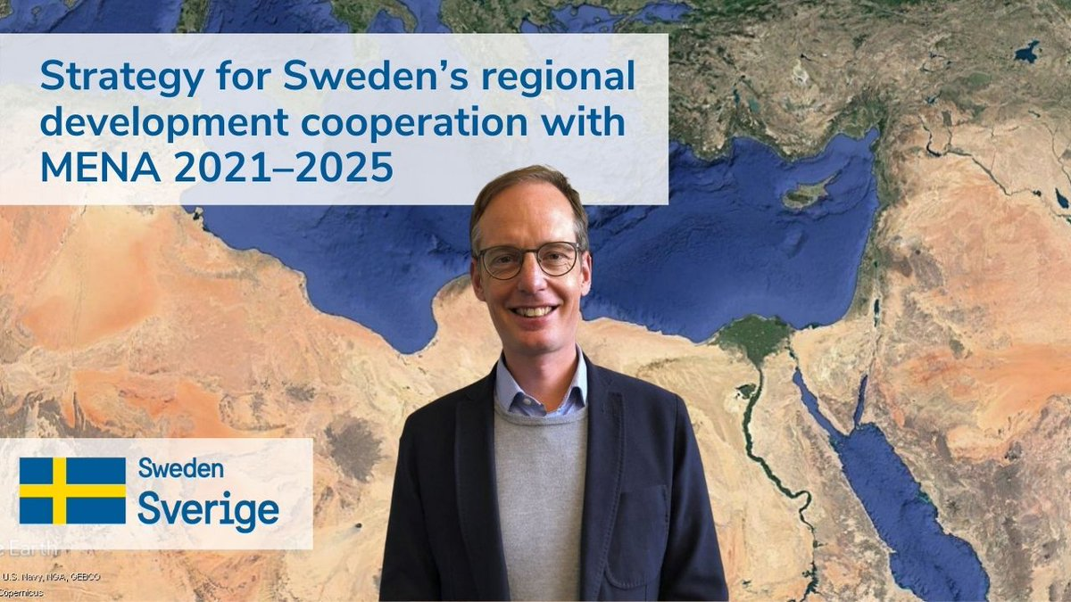 Gender Equality is again among the key priorities of the new @Sida  strategy in Mena Region 2021-2025: enjoy @GWPMed  interview! @UfMSecretariat will keep its strong committement with SIDA for #Women4Mediterranean empowerement