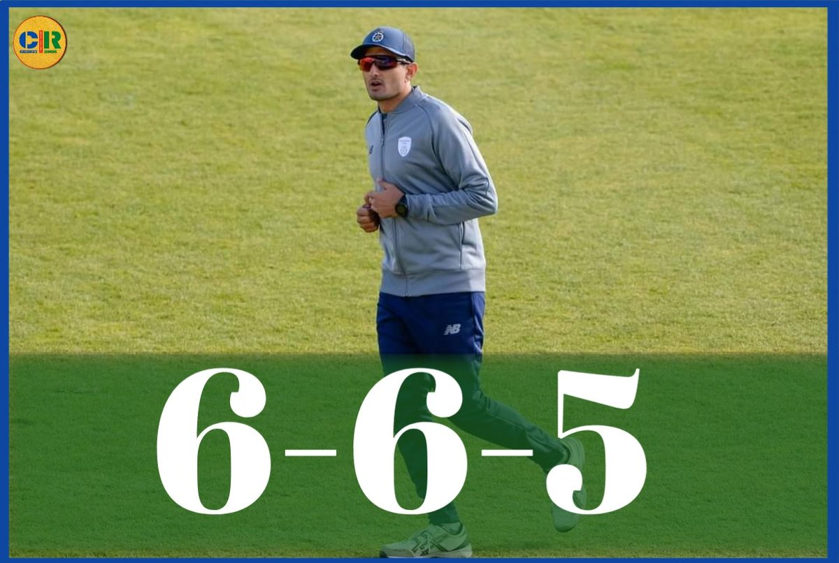 Mohammad Abbas took 5 wickets against Middlesex today which includes a hattrick in just 2.5 overs and gave only 6 runs