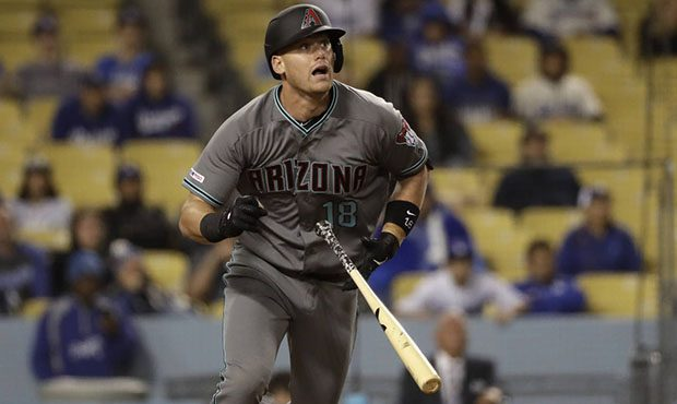 Following a dominant win over the Nationals yesterday, @Dbacks catcher Carson Kelly joins us at 8:30! How has he felt about the start of the season?  Listen on 98.7 FM, the @AZSports app or online here: https://t.co/9uAFYAbzSA https://t.co/chrRkMo4sL