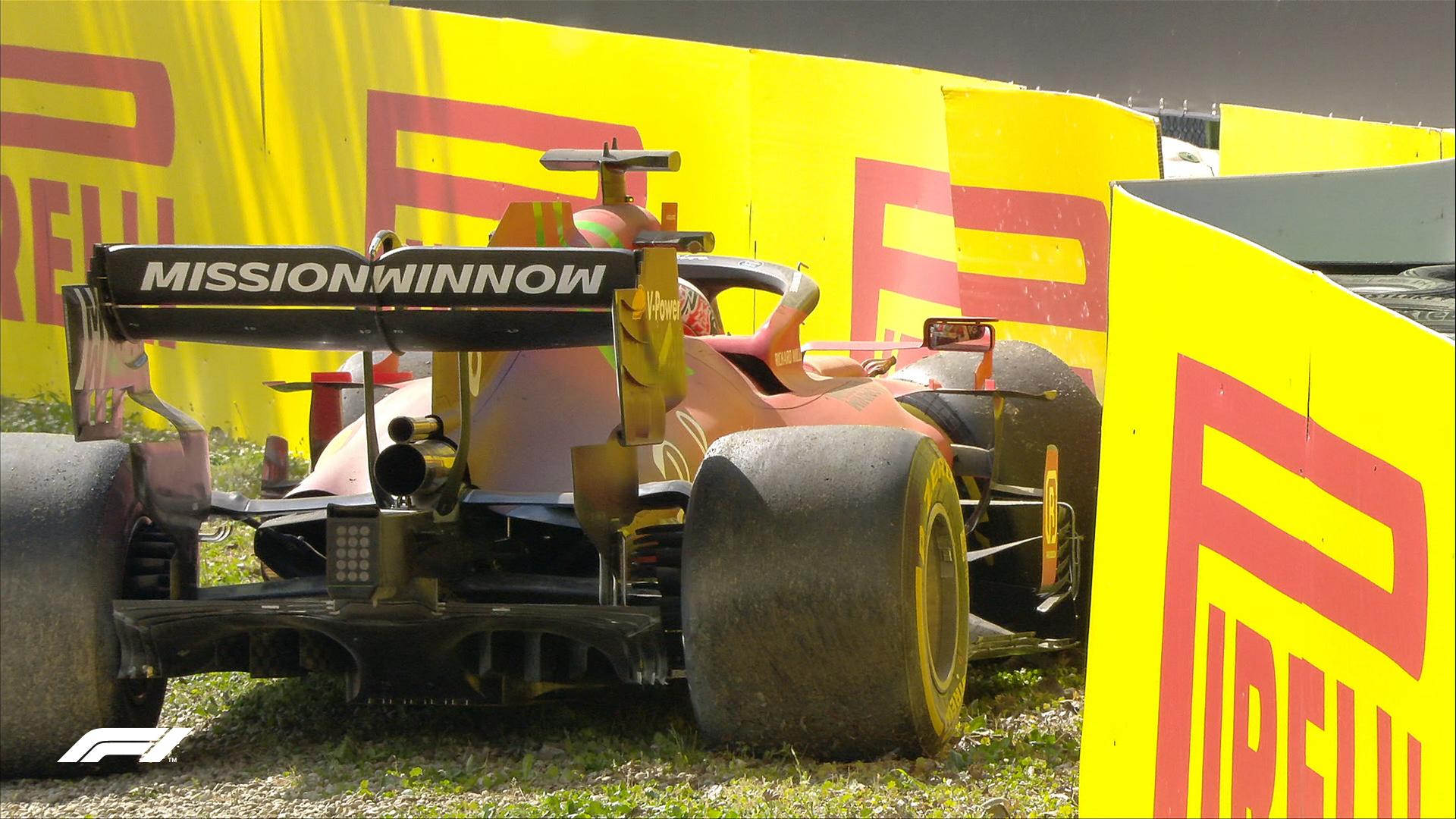 """Leclerc: """"Passo gara molto buono"""""""