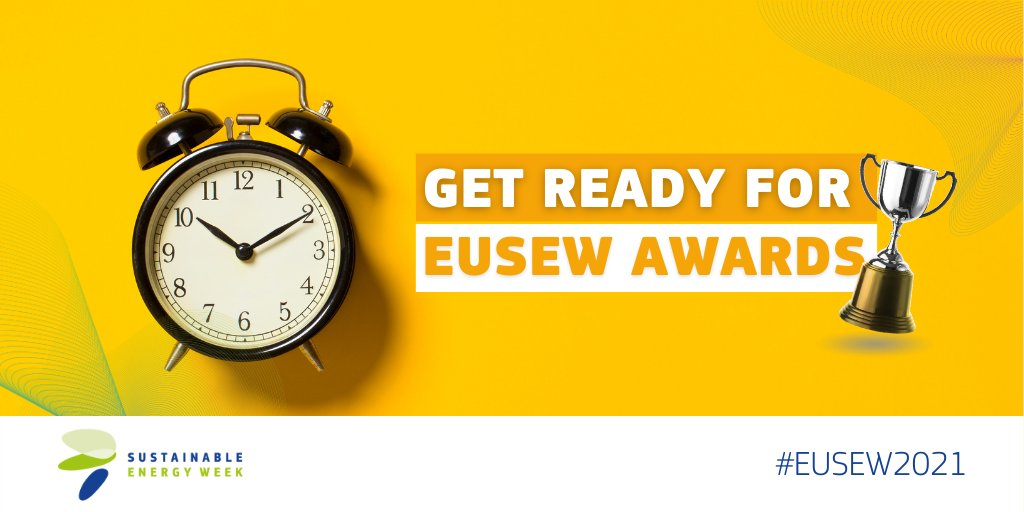 The #SustainableEnergyAwards recognise outstanding individuals and projects for their innovation in #energyefficiency & #renewables. Finalists will be chosen from a shortlist of the year's most successful projects for clean, secure & efficient energy. @TurboReflex @HYFLEXPOWER_EU