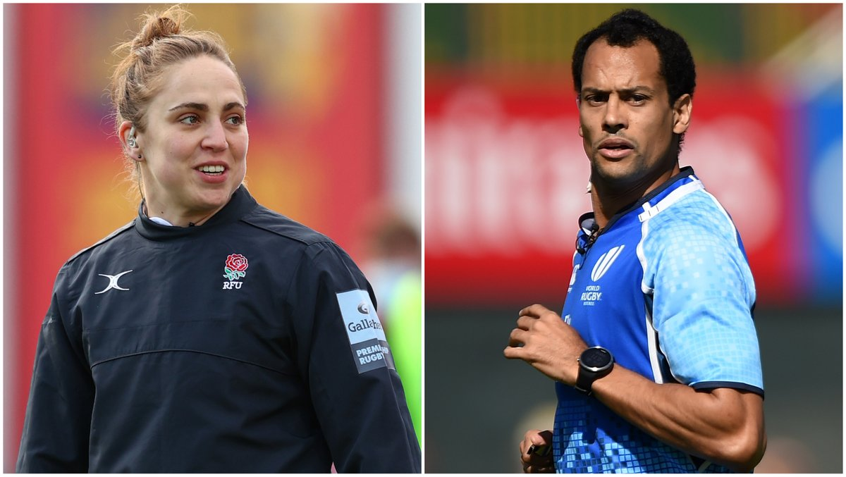 test Twitter Media - Congratulations to @SaraCoxRef and @richaughton who have been named in a squad of 22 match officials from 12 countries selected for the @Olympics in Tokyo 👏  Rugby sevens will take place from 26-31 July at Tokyo Stadium. https://t.co/bIh3W2NA9O