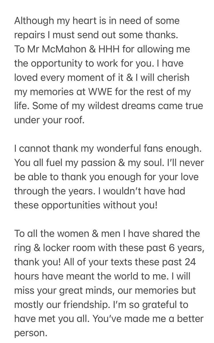 RT @PeytonRoyceWWE: Thank you ❤️ https://t.co/IVig0sl4pN