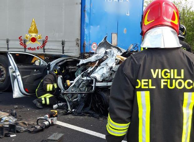 #treviso Incidente in A4 a San Sistino di Livenza,...