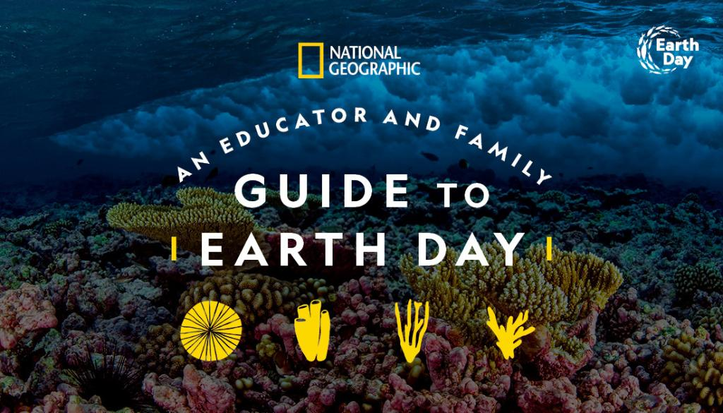 Calling all teachers, parents, and mentors! Our friends @NatGeoEducation pulled together an #EarthDay Guide that can bring the ocean to life in school and at home. https://t.co/uUhL8waZHs https://t.co/N06SwCqUuS