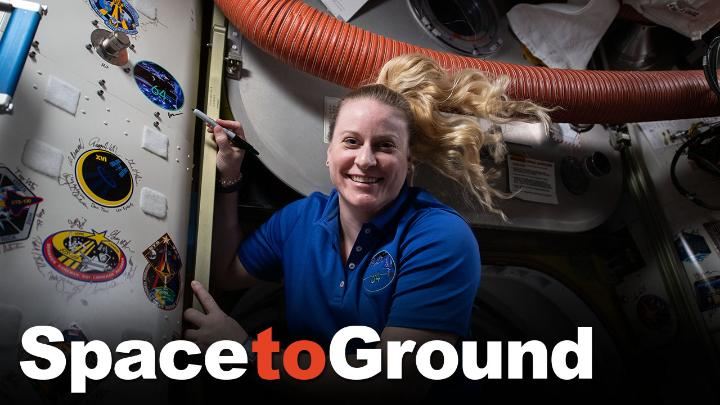 🛰️ Three space travelers including astronaut Kate Rubins return from the @Space_Station today, as four more prepare to launch April 22 — #EarthDay — on NASA's @SpaceX Crew-2 mission.  🌎 More about station Earth science in this week's #SpaceToGround: