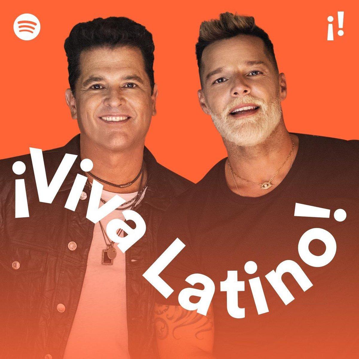 🎵Contigo desde Alaska a Buenos Aires Contigo desde Londres hasta Nueva York 🎵 #CancionBonita en #VivaLatino @Spotify @carlosvives