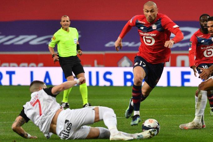 ليل يتعادل مع مونبلييه بالدوري الفرنسي. ليل