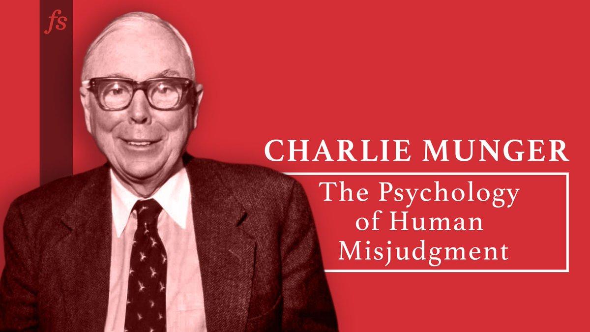 test Twitter Media - Psychology of Human Misjudgment (Transcript) by Charlie Munger https://t.co/ey9b7Hu7cf https://t.co/T8cFMzfKNV