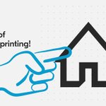 Image for the Tweet beginning: Save on outsourcing! ➡️🏠  #Print in-house